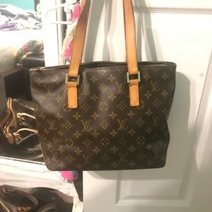 Authentic Louie Vuitton Cabas piano bag